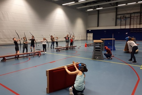 Sporten na School - Archery Tag & Run